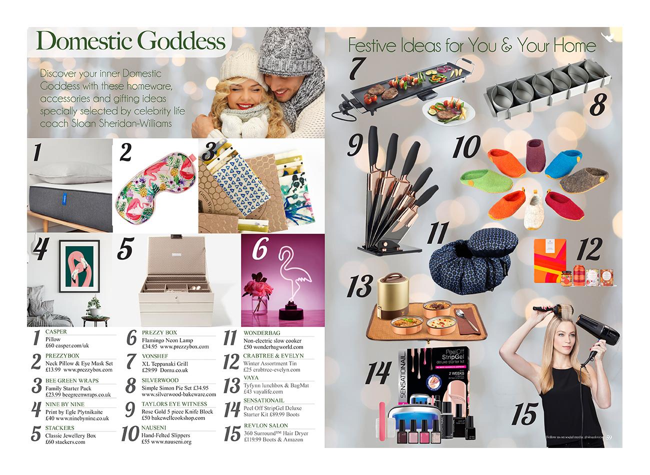Sloan Magazine Domestic Goods